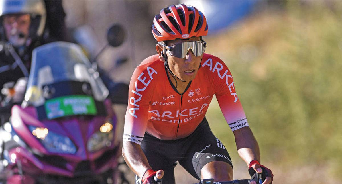 Tour de los Alpes 2021: así le fue a Nairo Quintana  y a los colombianos en la etapa 1