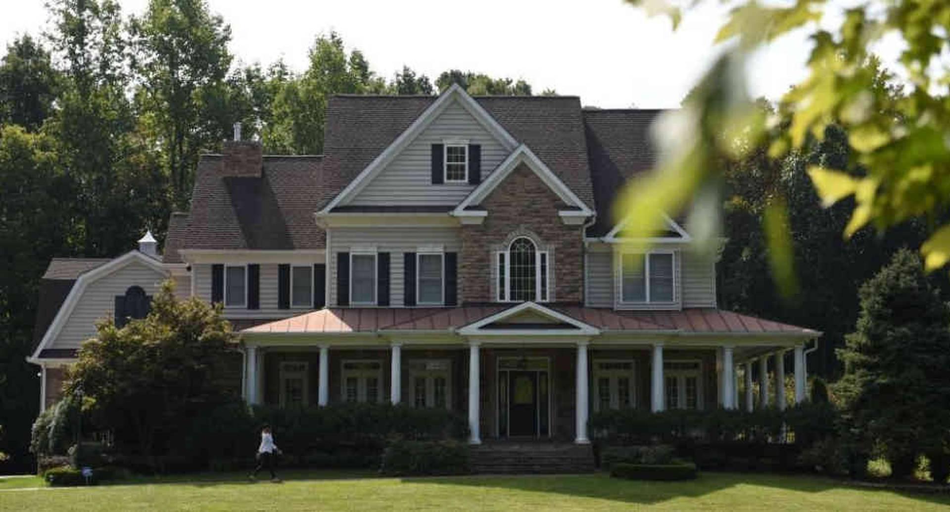 La casa donde supuestamente vive Oleg Smolenkov y su familia en Stafford, Virginia, Estados Unidos. Foto: Getty Images/BBC