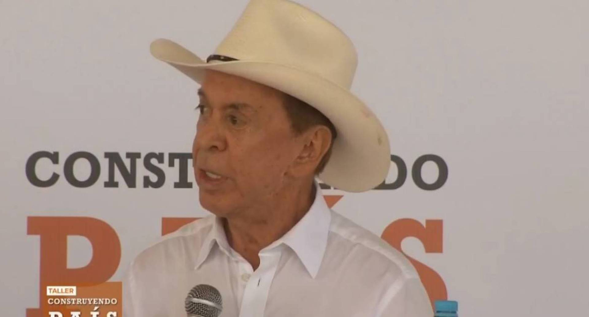 Nebio Echeverry, gobernador de Guaviare, durante su intervención en el taller Construyendo País, en San José del Guaviare. Foto: Presidencia de la República