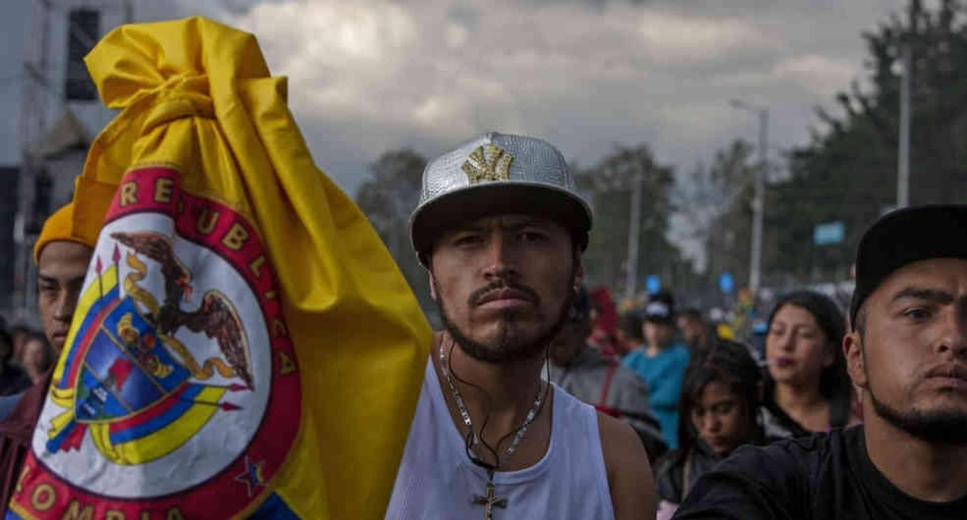 """""""Un amor, una patria llamada Hip-Hop"""": El mensaje de uno de los asistentes al evento. Fotos: Gabriela Alvarado."""