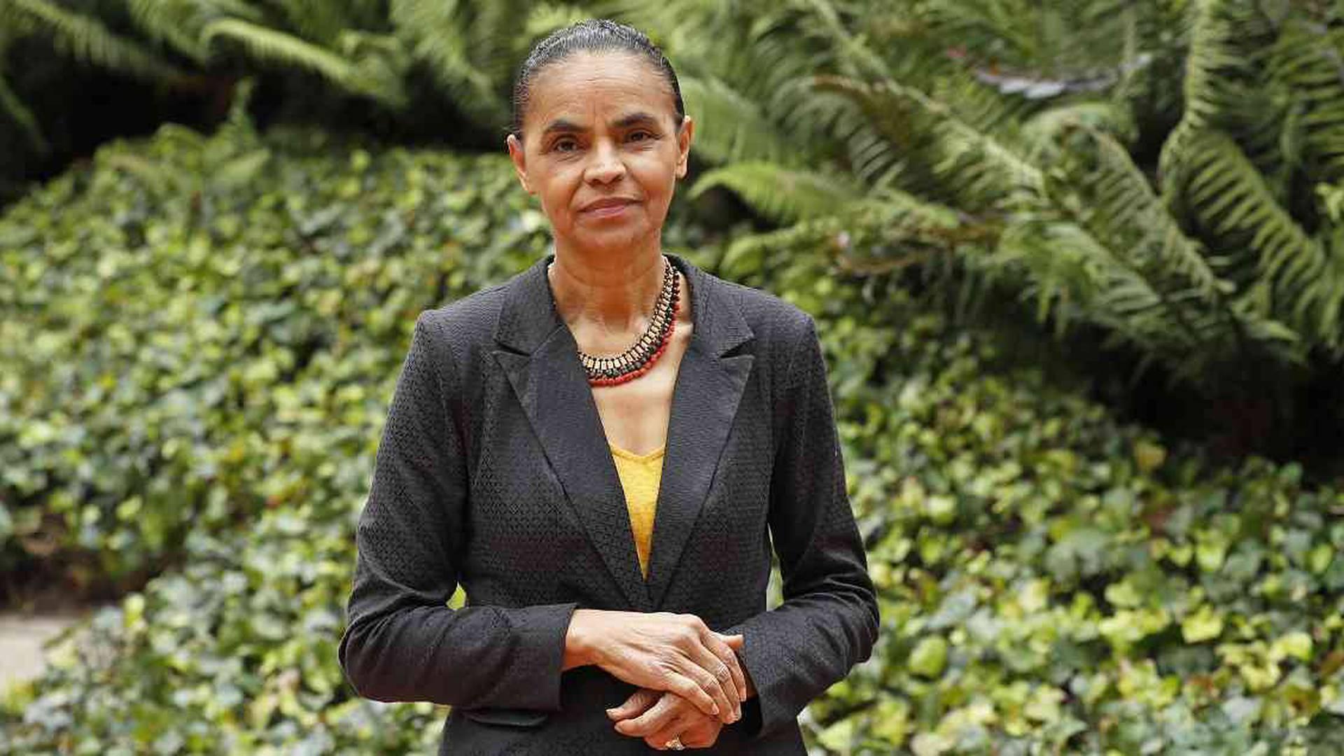 Marina Silva,  ex ministra, ex senadora y ecologista brasileña, afirma que es posible detener la deforestación.