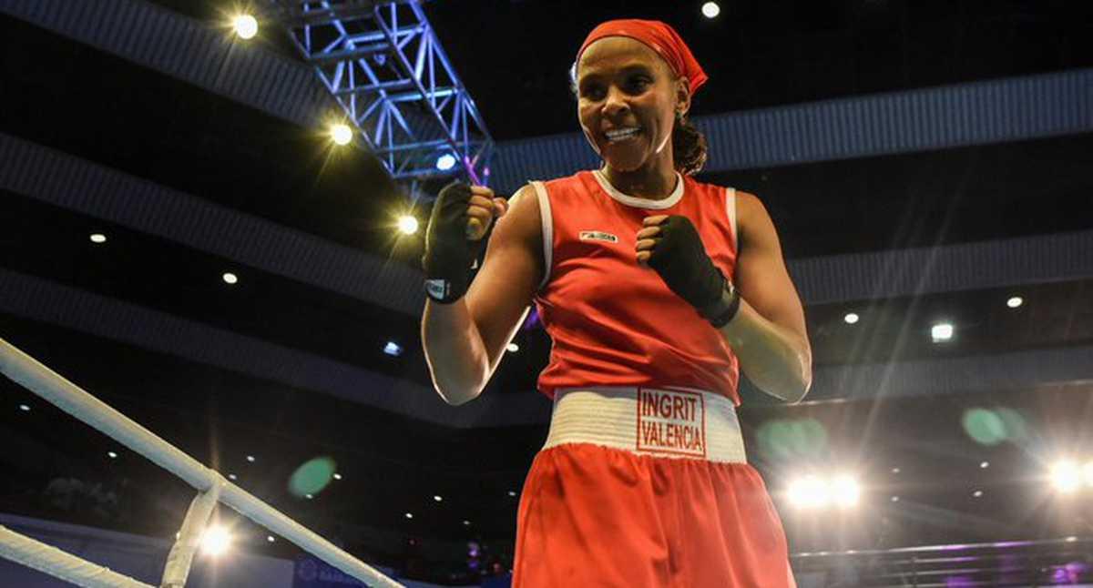 ¡Ilusiona con la medalla! Ingrit Valencia ganó su primer combate en el boxeo de los Juegos Olímpicos de Tokio 2020
