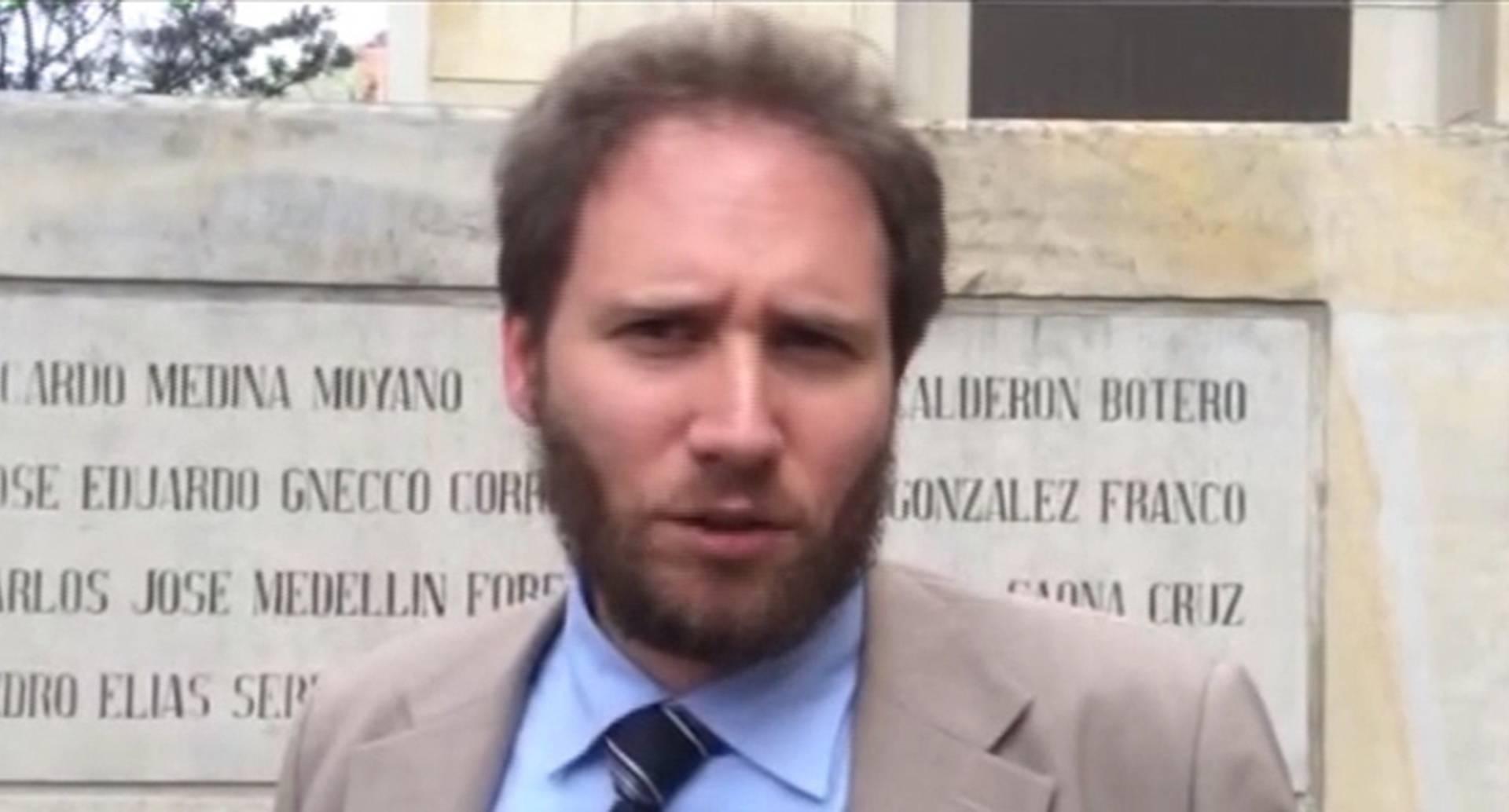 Primer secretario de la embajada de Italia en Colombia.