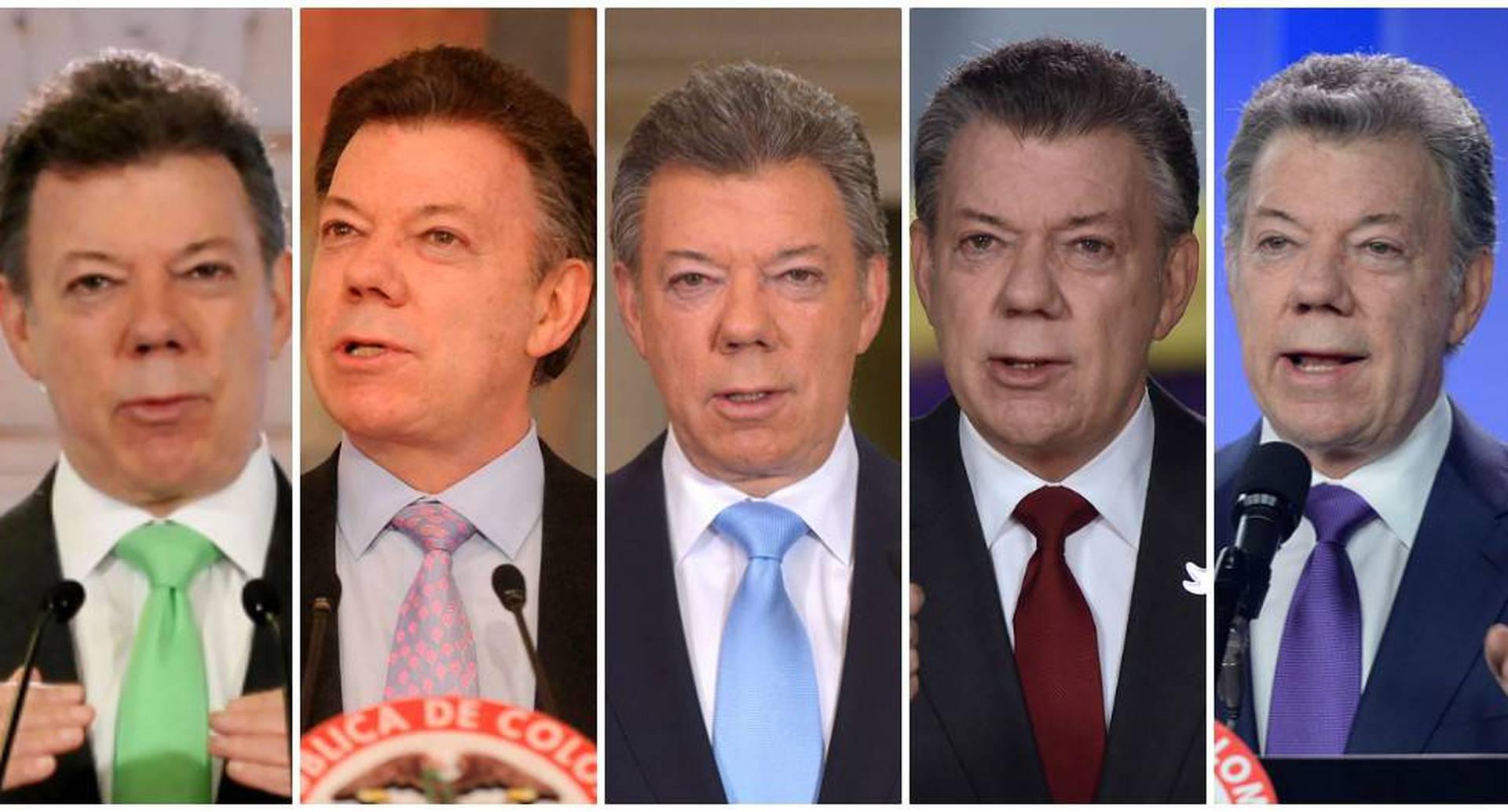 Dos periodos presidenciales. Santos tuvo días dulces, otros amargos. El mejor -dice-, cuando ganó el Nobel de Paz. El más doloroso, perder el plebiscito. Estar al mando de un país convulsionado como Colombia le saca muchas canas a los presidentes. Santos no fue la excepción.