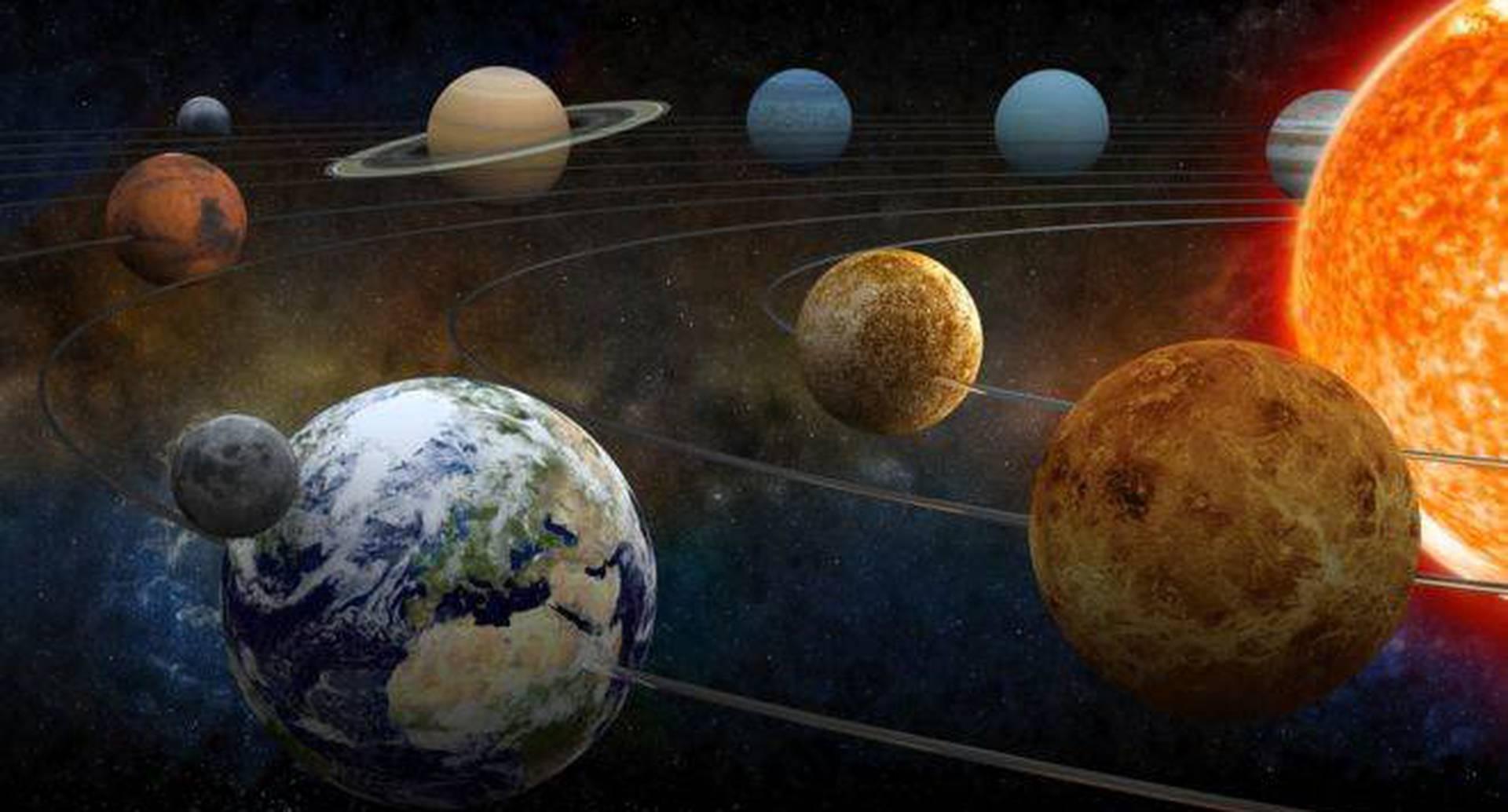 Entre los planetas del sistema solar hay una franja de espacio vacío que los divide en dos clases.