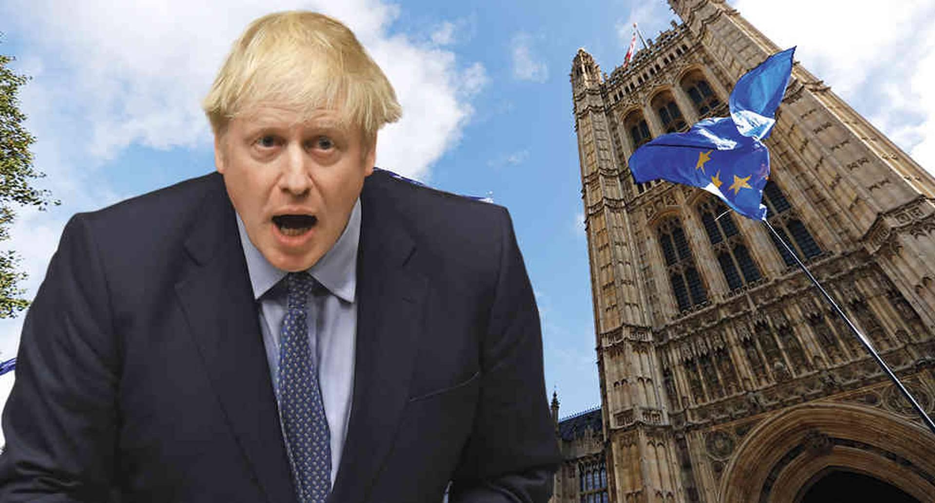 El nuevo primer ministro de Reino Unido, Boris Johnson, conducirá al país a un brexit, sí o sí.
