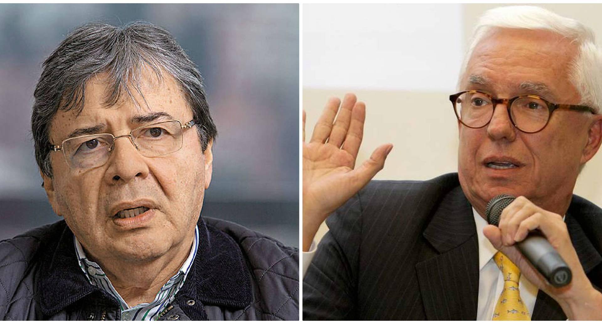 Jorge Robledo y Carlos Holmes Trujillo