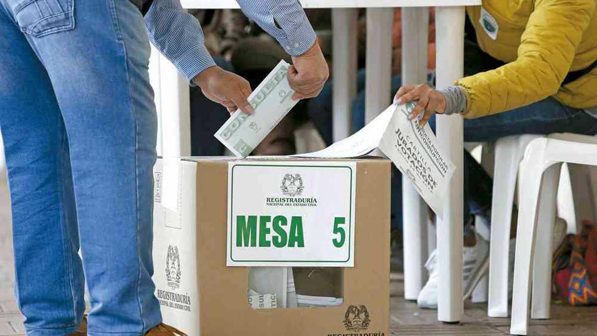Las elecciones en Colombia son el próximo 27 de octubre.
