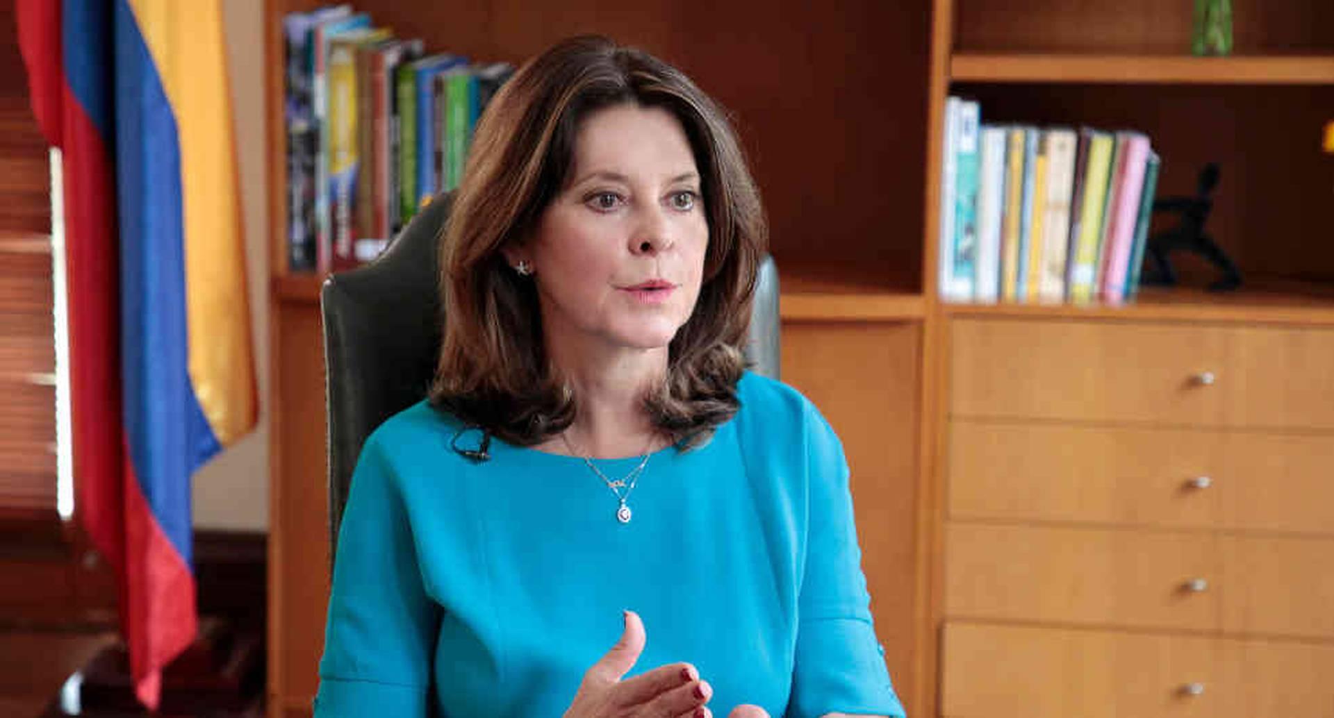 A la vicepresidenta Martha Lucía Ramírez no le aplicaría la reforma.