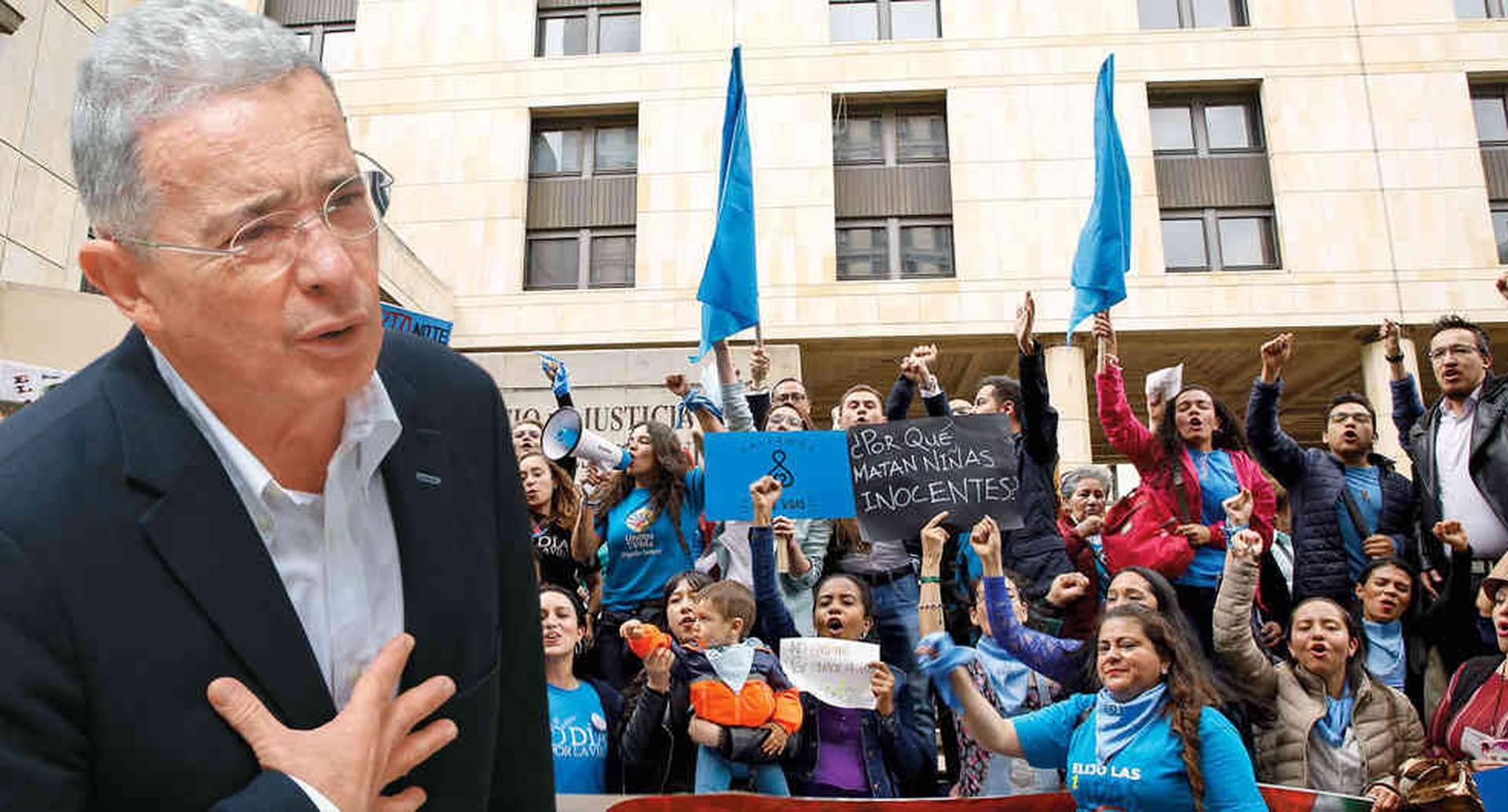 Uribe le apunta a que se permita la objeción de conciencia institucional.