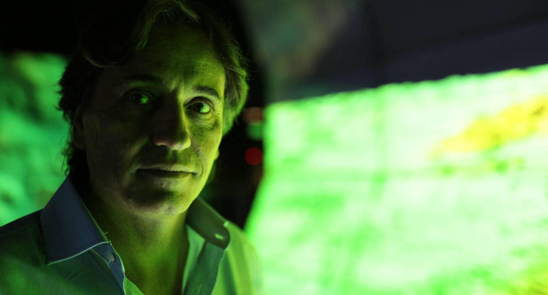 Francisco Estrada-Belli antropólogo que lideró el descubrimiento de la ciudad Maya.