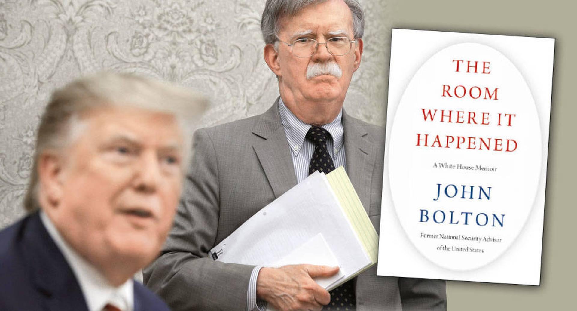 Trump trató de frenar la publicación del libro de Bolton. La Casa Blanca argumentó, sin éxito, que contenía asuntos de seguridad nacional. En The Room Where It Happened: A White House Memoir, el exconsejero Bolton reúne sus escandalosas experiencias en la Casa Blanca.