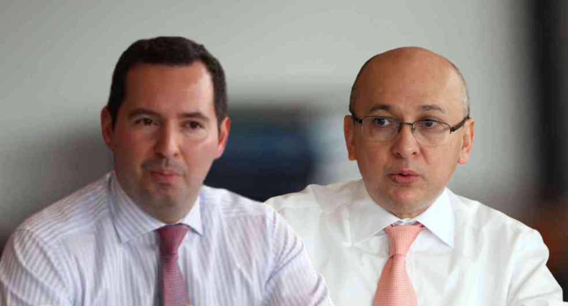 Jorge Perdomo y Eduardo Montealegre.
