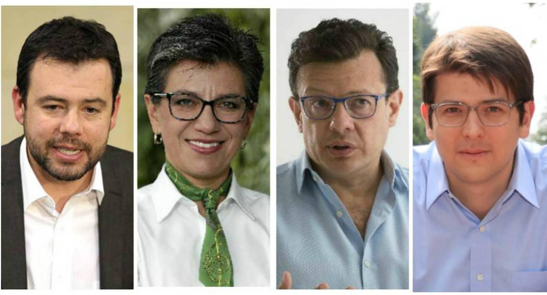 Candidatos a la alcaldía de Bogotá