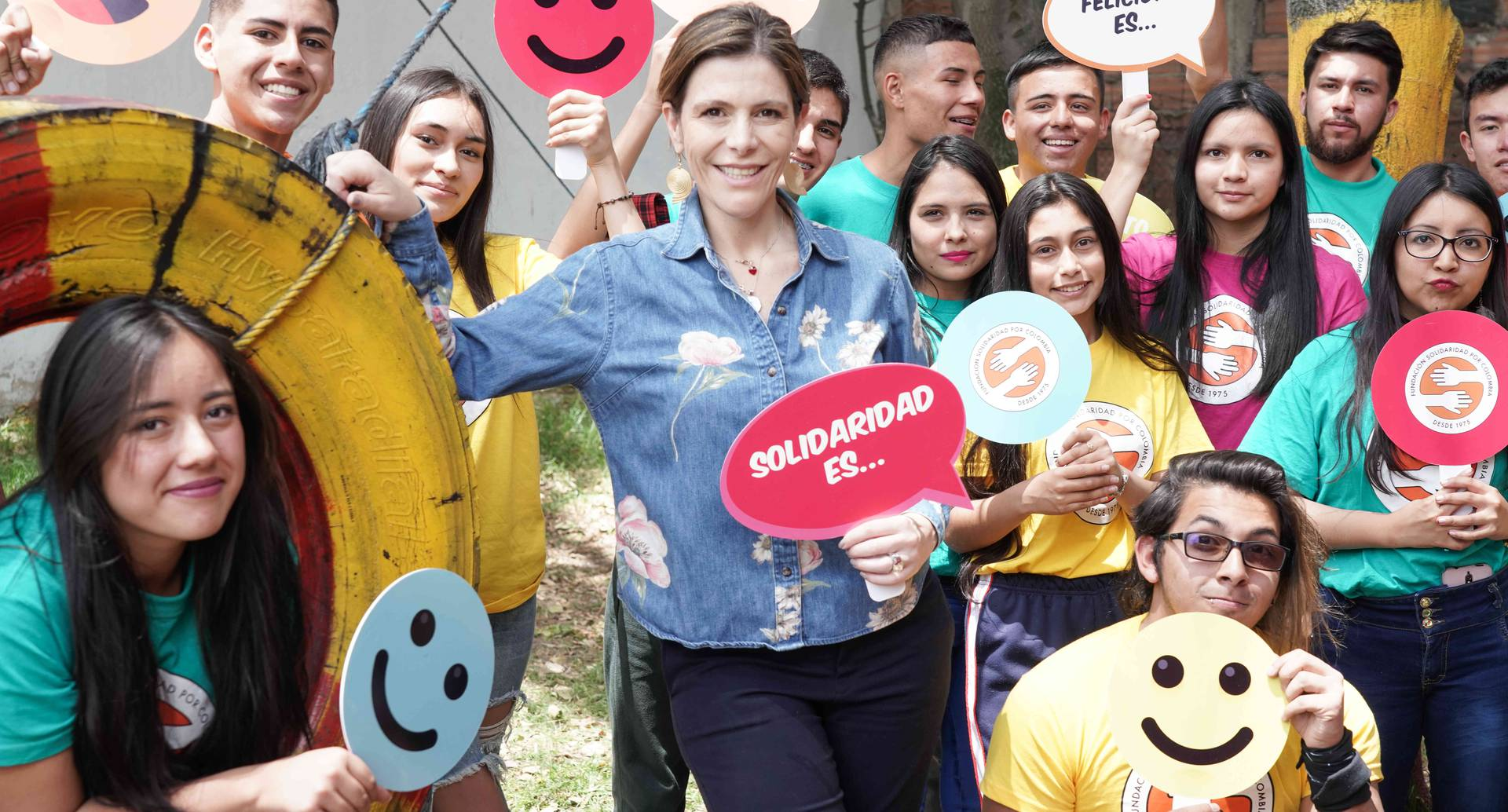 María Carolina Hoyos,  Presidente de la Fundación Solidaridad por Colombia.