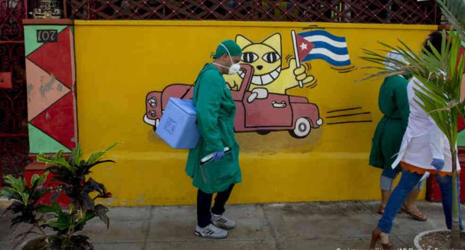 Lucha contra covid-19 en Cuba.