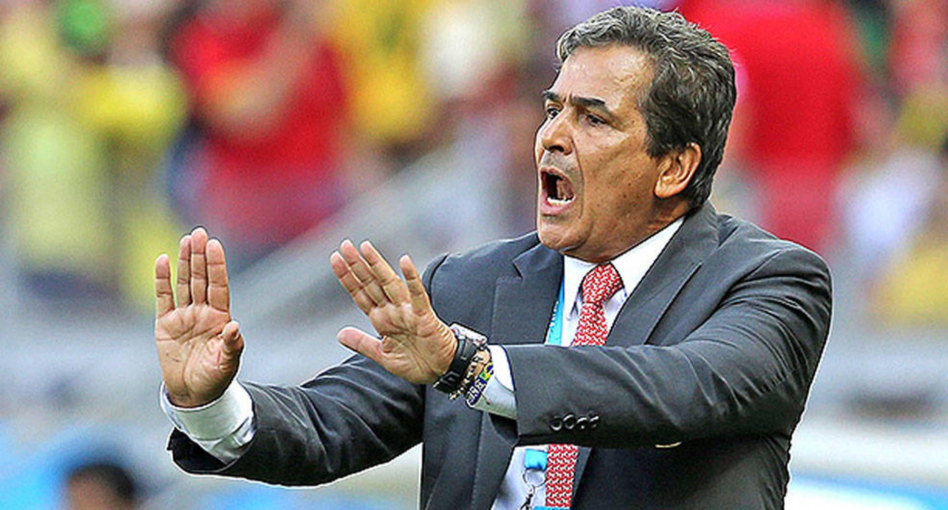Jorge Luis Pinto arremetió contra Costly
