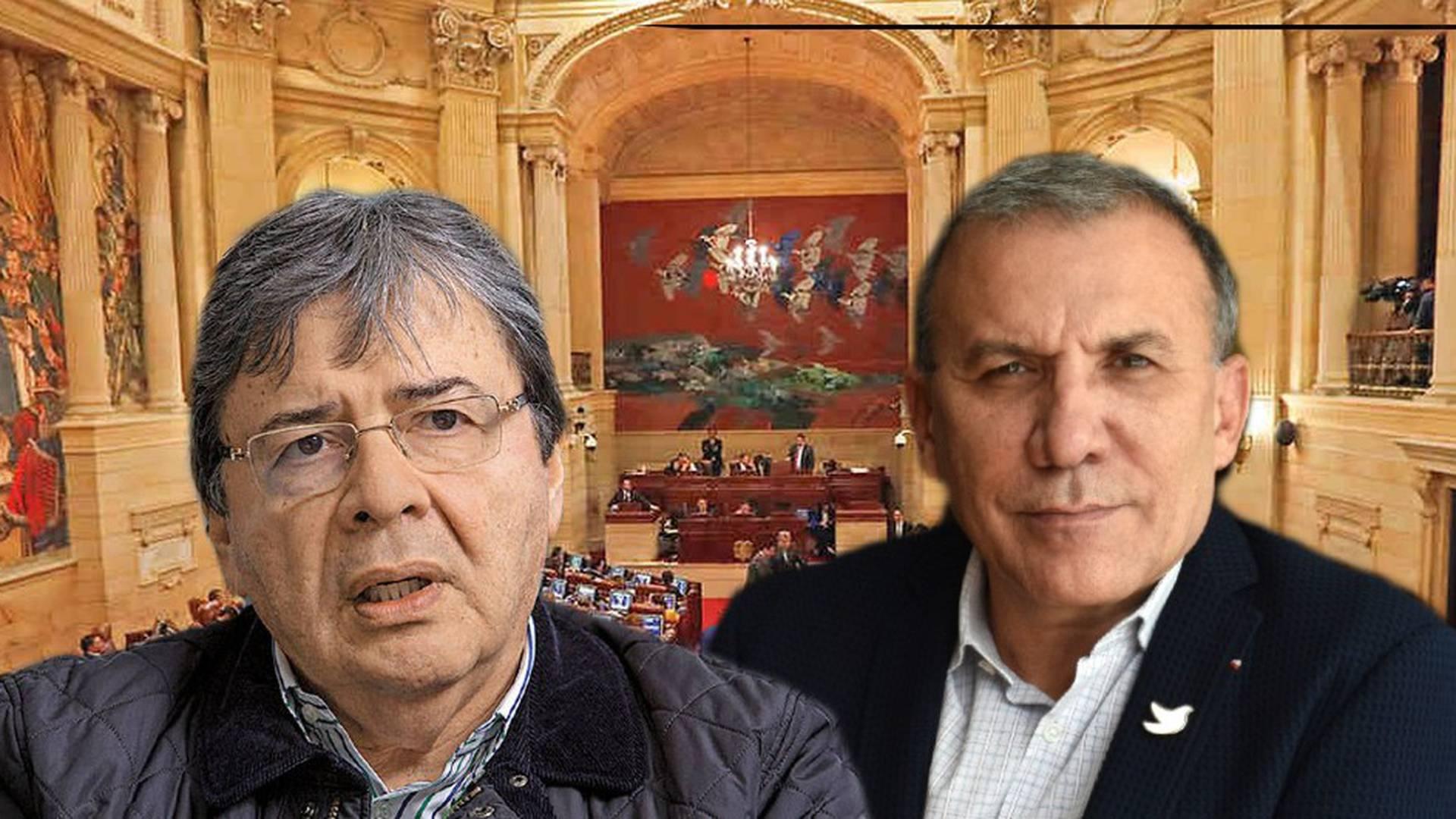 Roy Barreras Carlos Holmes Trujillo