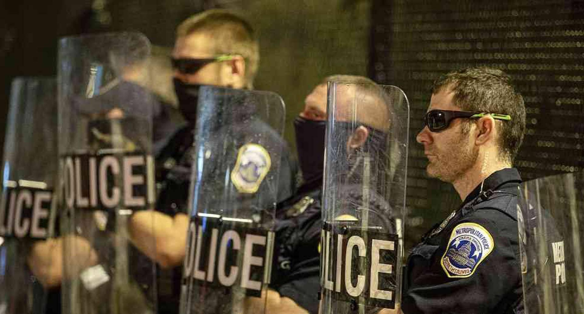 Policía de Washington, EEUU - Foto: AFP