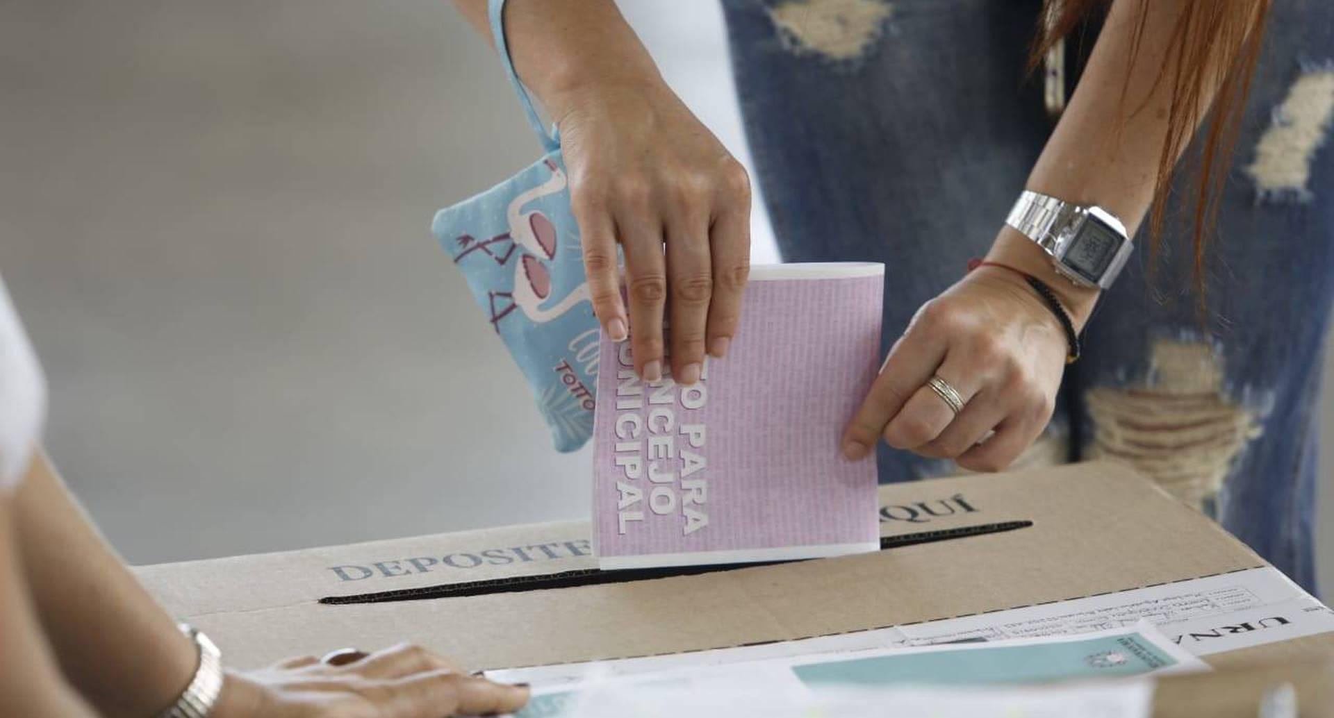 El proyecto busca una modernización del proceso electoral.