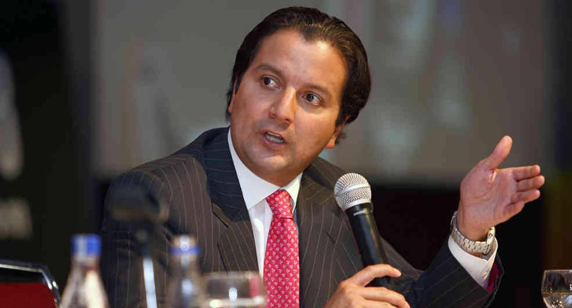David Luna, ex ministro TICs y ex candidato a la Alcaldía de Bogotá.