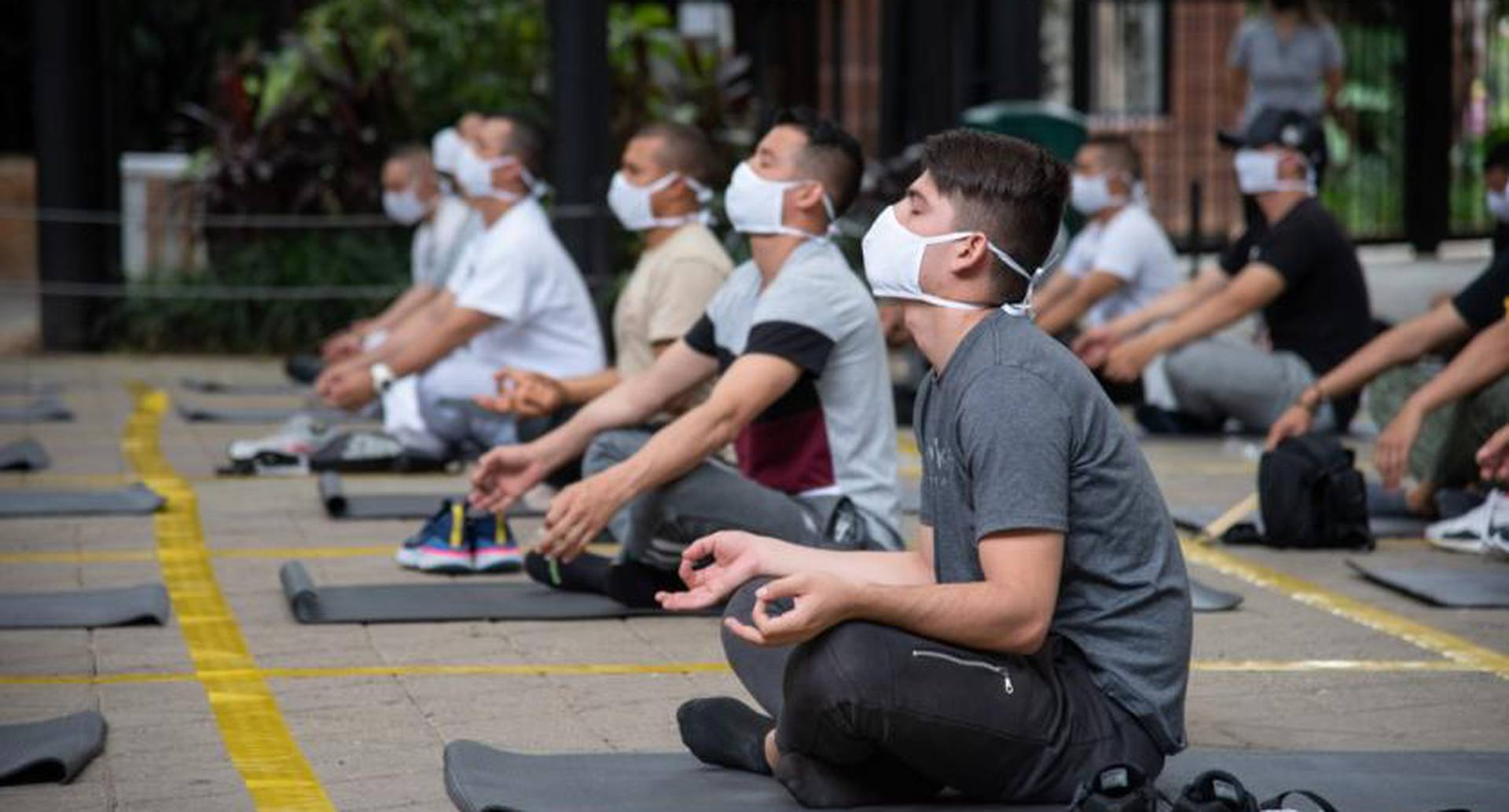 Yoga para policías