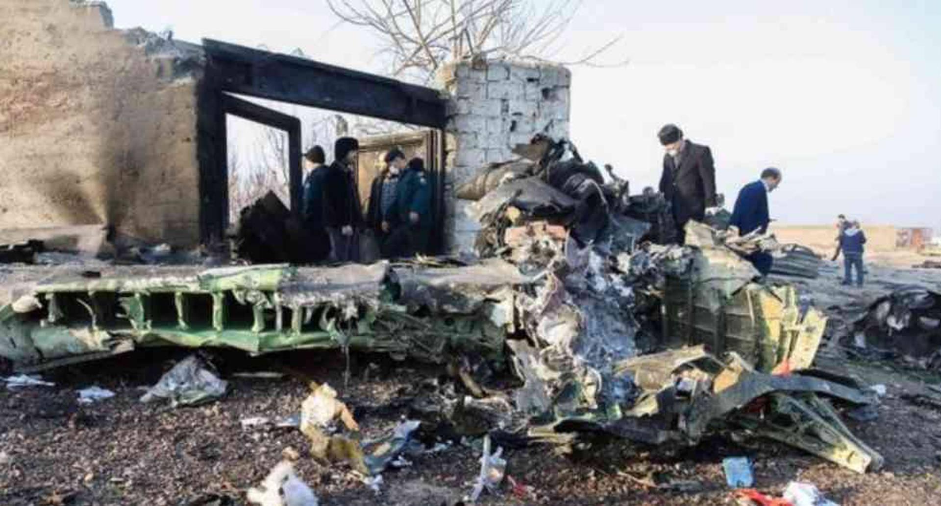 El avión de Ukraine International había despegado de Teherán con destino a Kiev cuando fue derribado.
