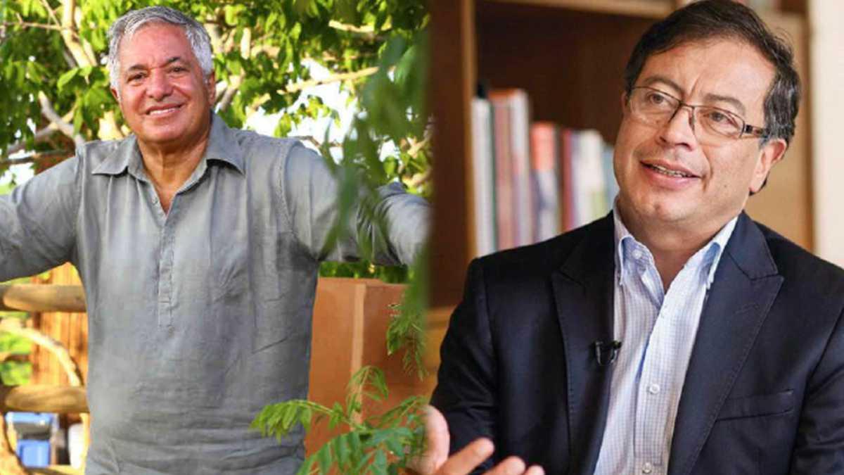 Jean Claude Bessudo y Gustavo Petro