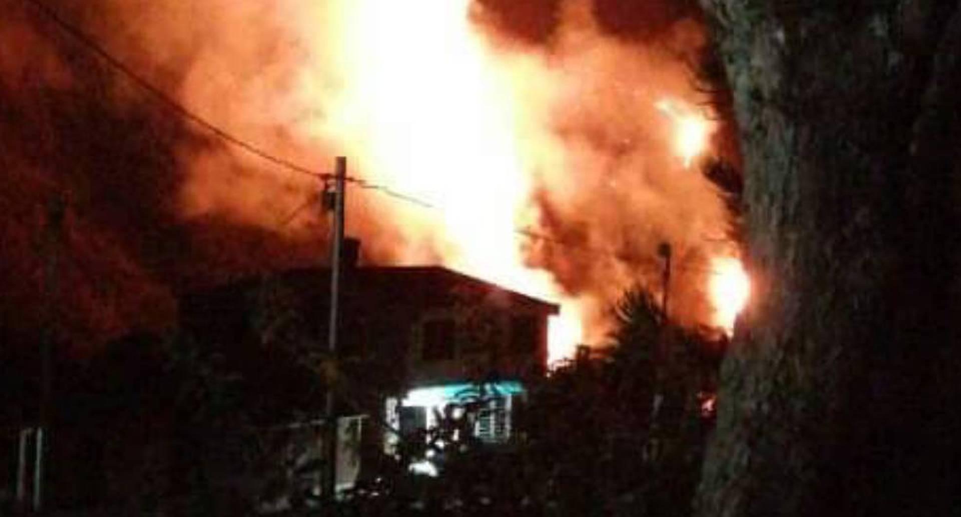 Incendio en Quetame