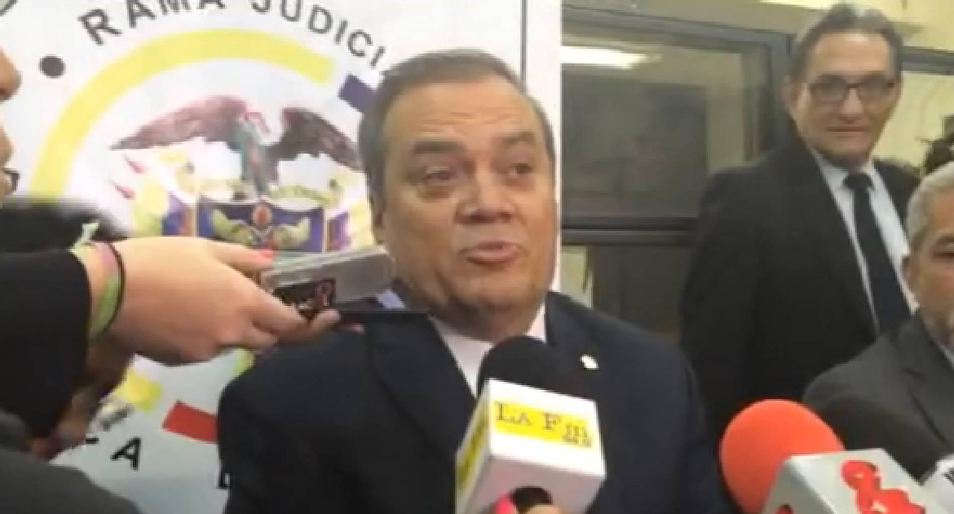Ovidio Claros Polanco, presidente de la judicatura.