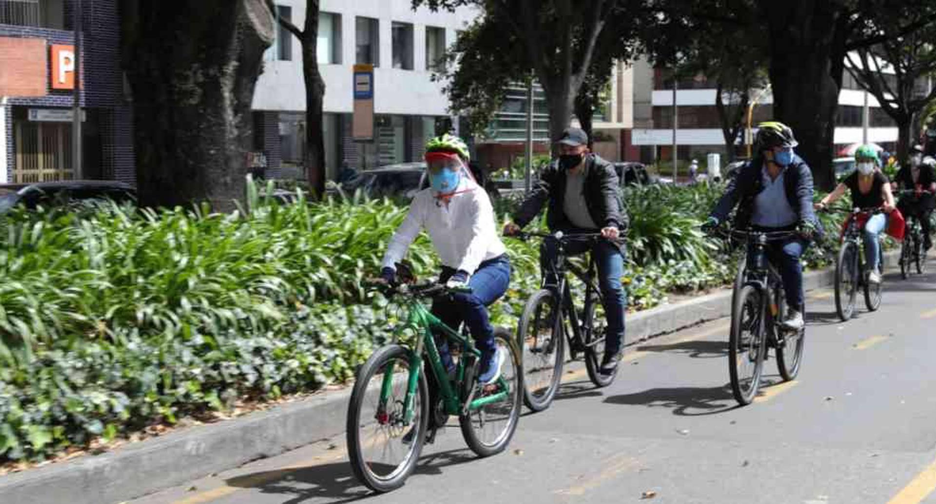 Distrito entregó nueva ciclorruta sobre la carrera novena | Noticias del día