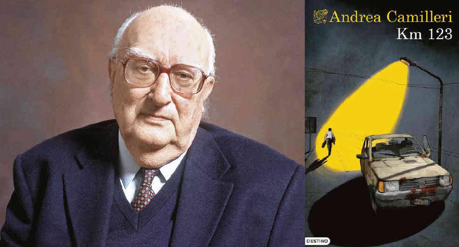 Andrea Camilleri fue también guionista y director de cine. Su serie con el comisario Montalbano llega casi a las cuarenta novelas.