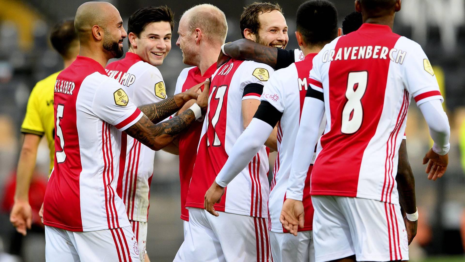 Récord en el fútbol de Holanda: Ajax humilló 13-0 al Venlo