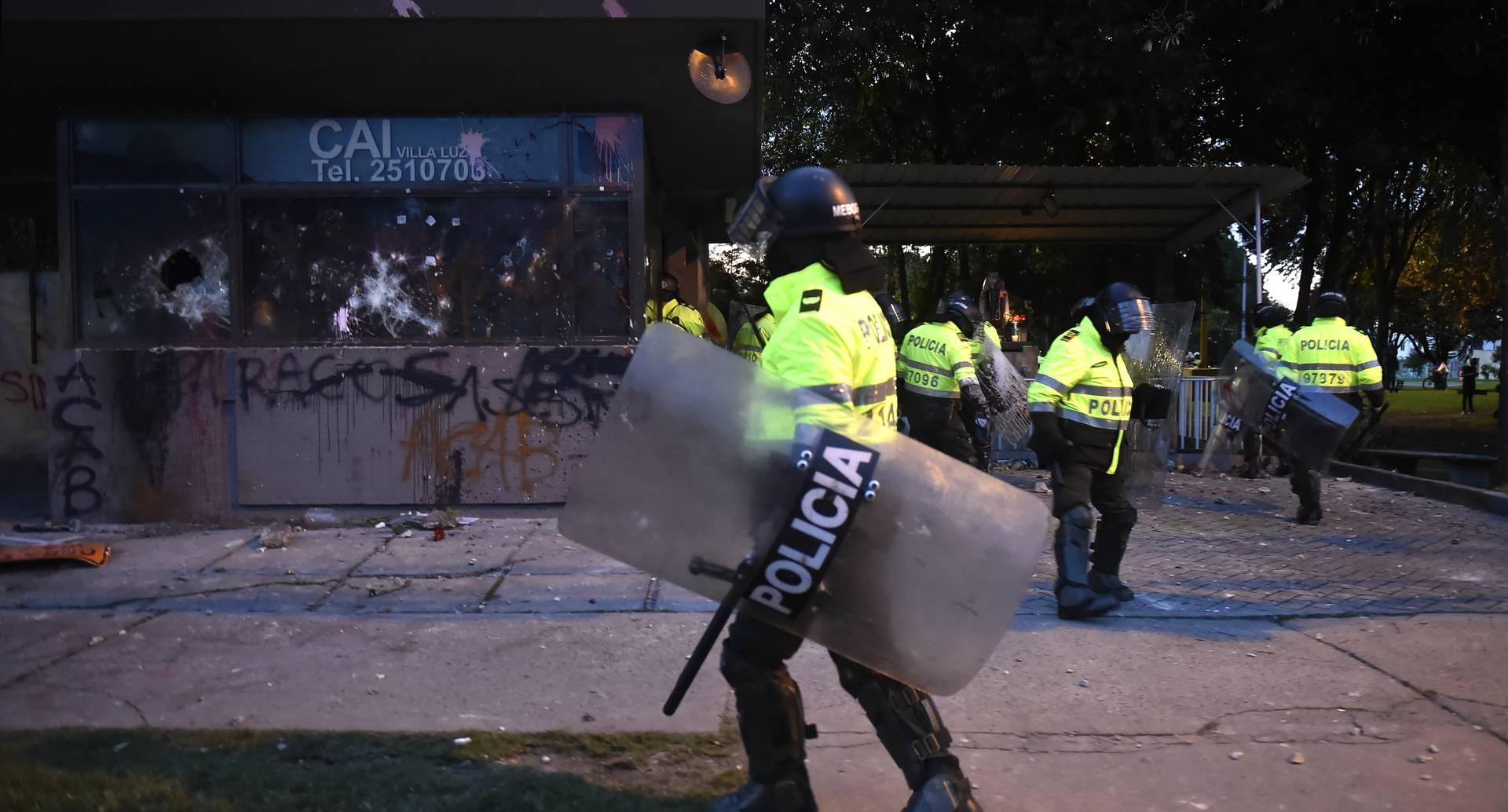 Protestas en Bogotá por caso Javier Ordóñez