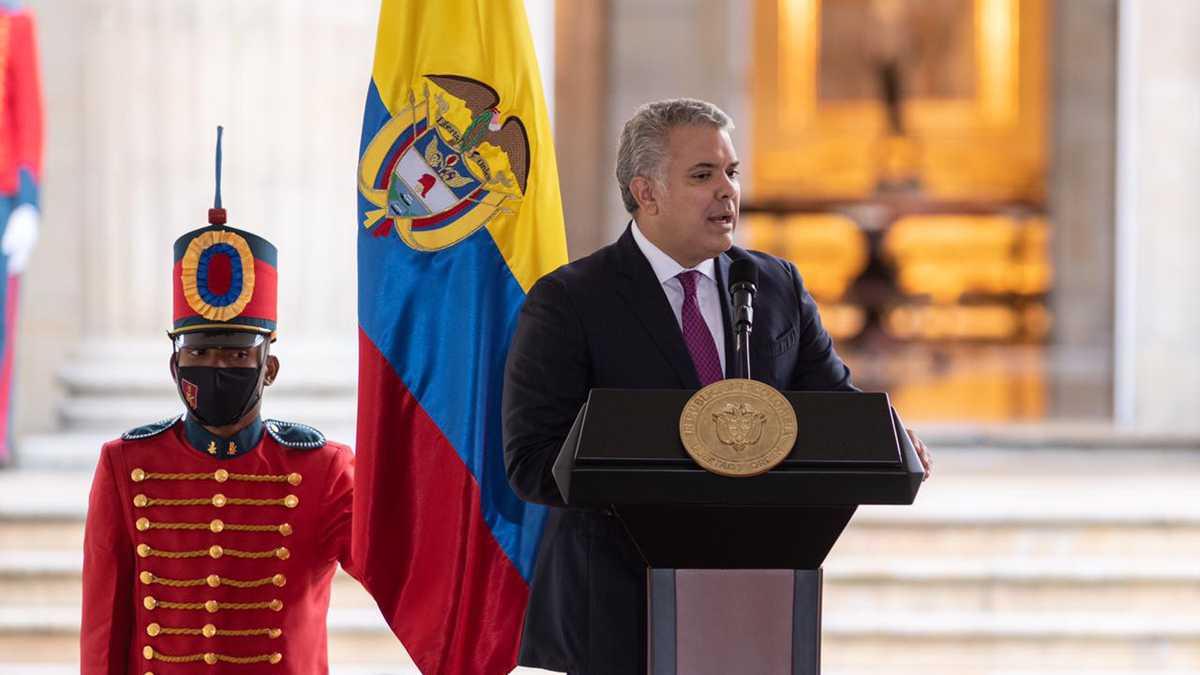 Presidente Duque aseguró que nueva reforma tributaria recoge el clamor  ciudadano que se presentó en las calles
