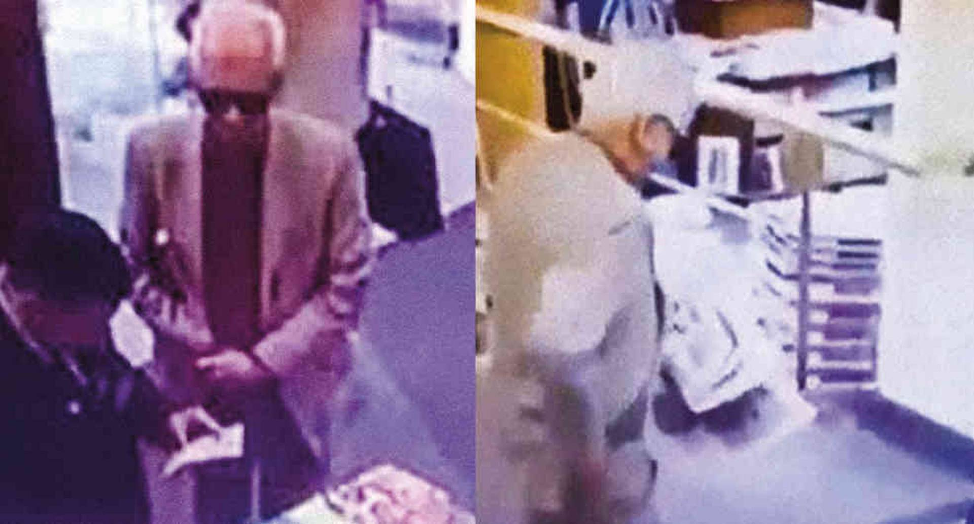 El video muestra al embajador de México en Argentina, Ricardo Valero, mientras oculta un libro entre un periódico, y sale sin pagar.