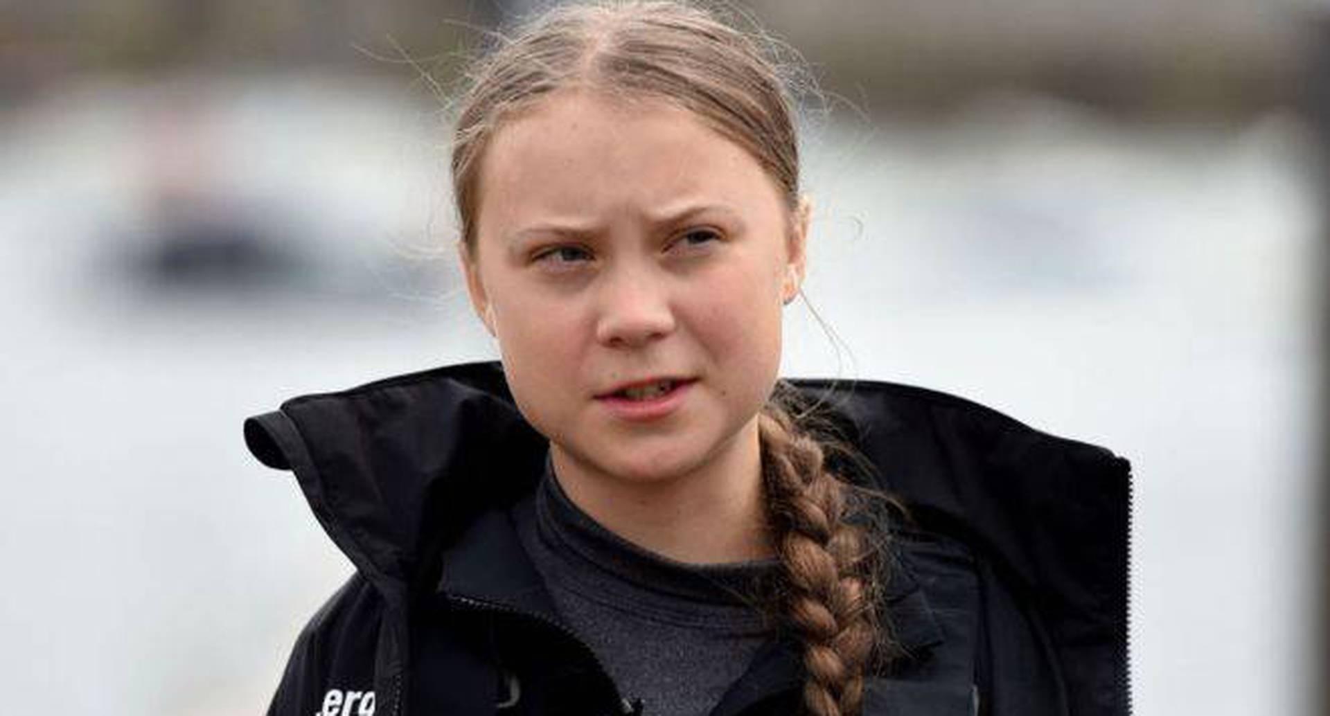 La activista sueca está nominada al premio Nobel de Paz.