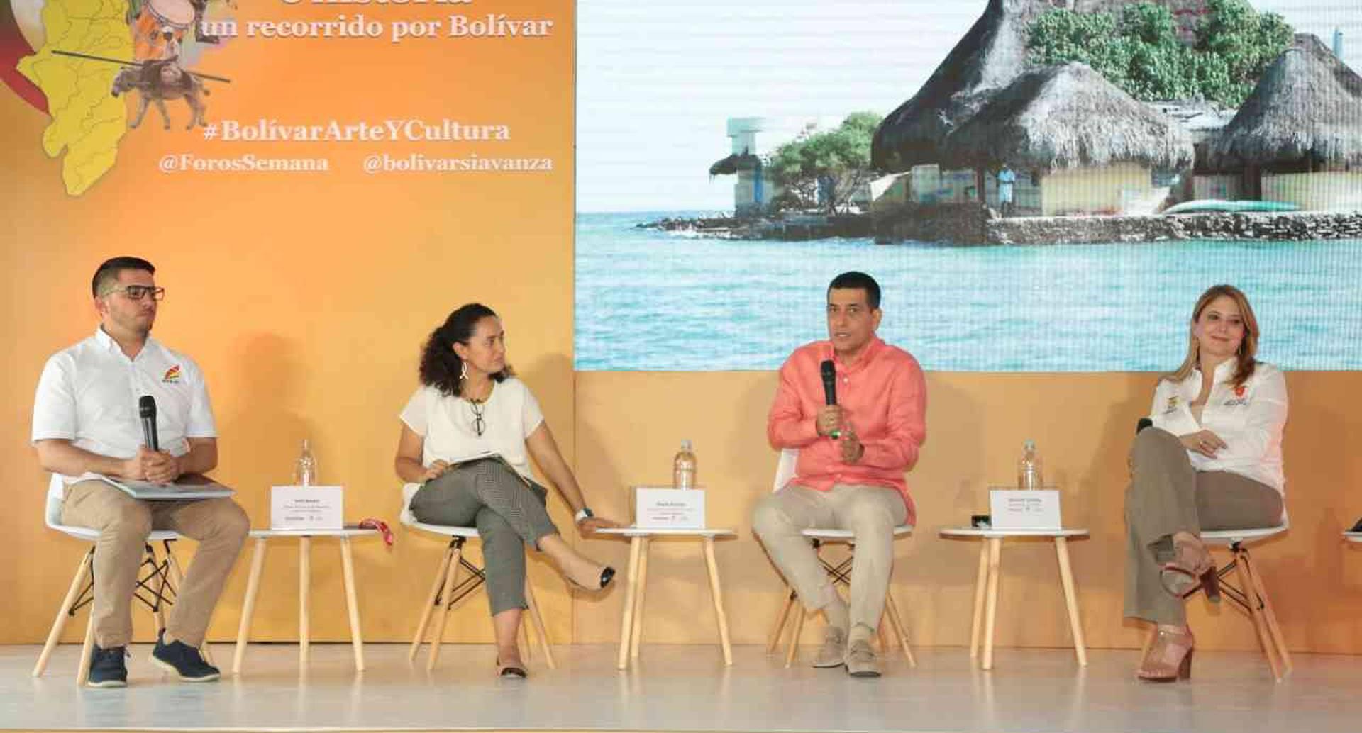 Foro 'Arte, cultura e historia, un recorrido por Bolívar', 17 de diciembre, Cartagena.