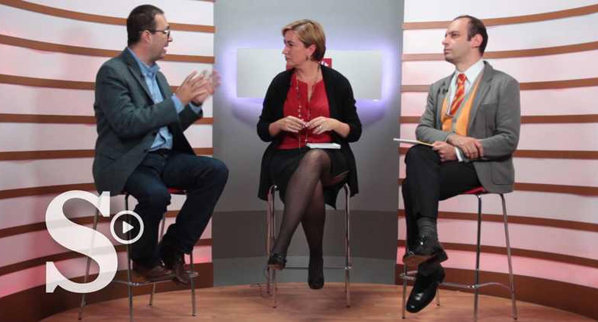 Marcela Prieto, Carlos Alberto Patiño y Andrés Molano