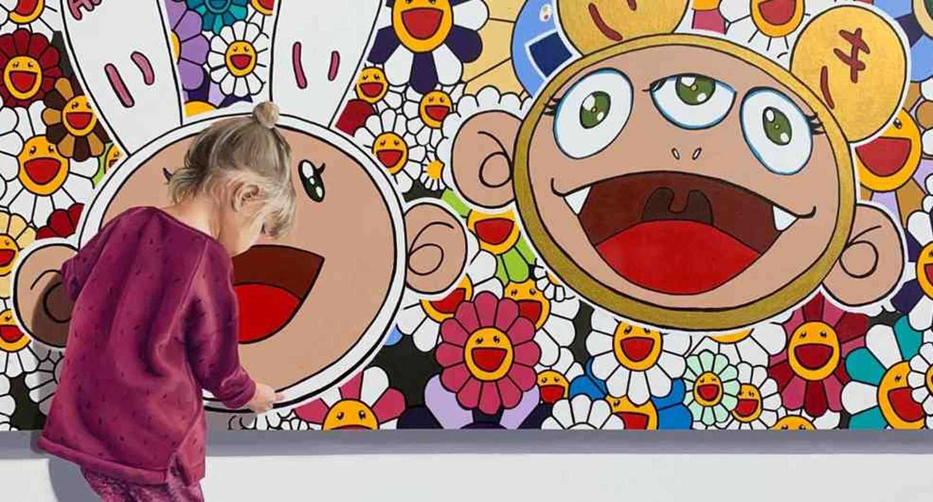 Los niños siempre están presentes en la obra de Javier Caraballo.