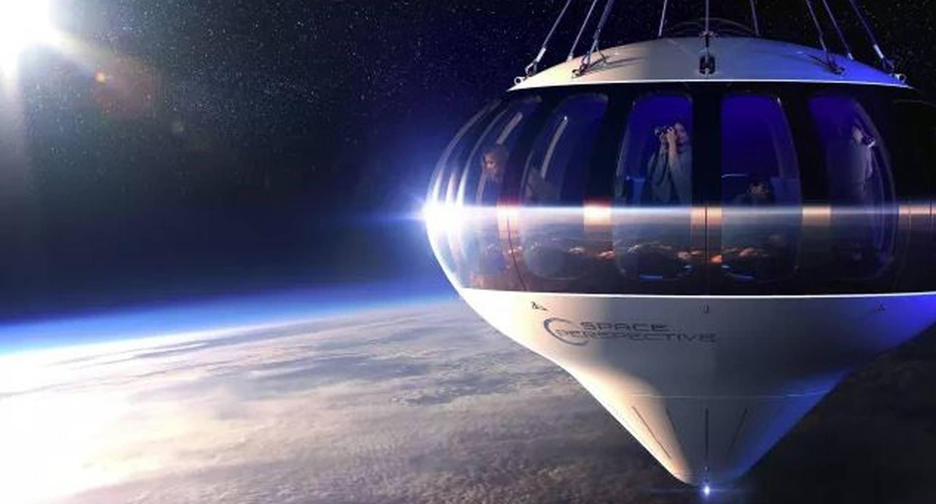 Agencia de turismo planea hacer un viaje en globo al espacio, ¿se le mediría?