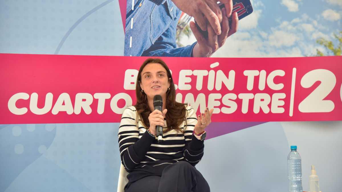 Karen Abudinen, ministra TIC. Cortesía.