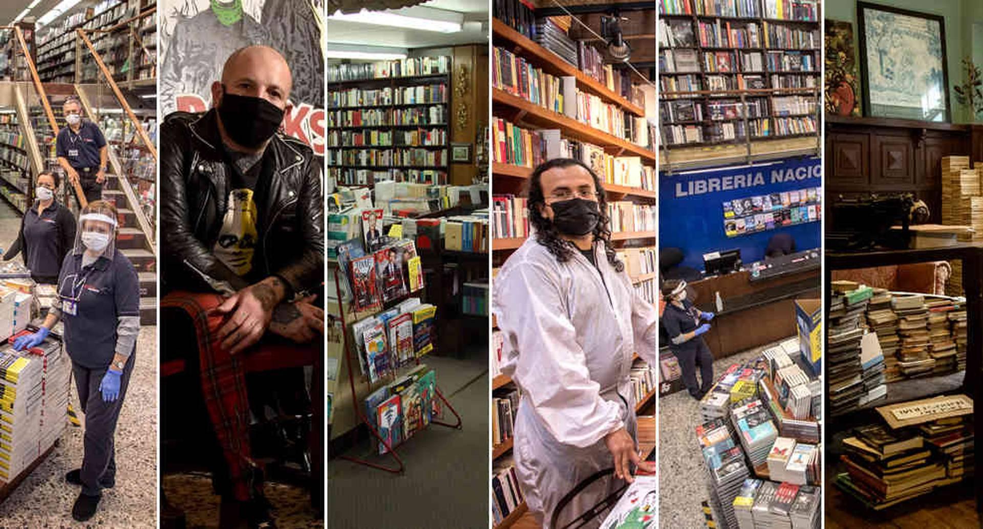 Los libros y la peste: la lucha de las librerías contra la soledad.