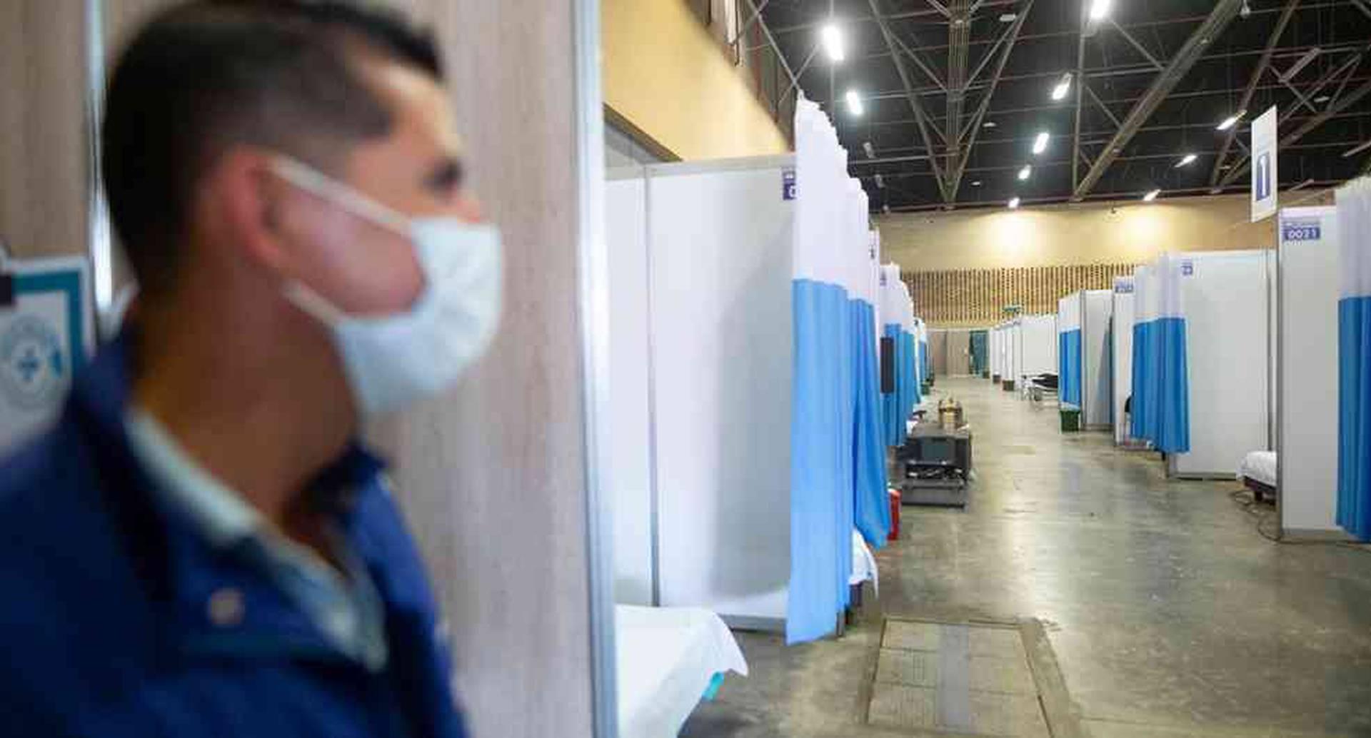 Un convenio entre Corferias, el Ministerio de Salud, la Alcaldía de Bogotá y la Gobernación de Cundinamarca prevé la adecuación de los pabellones para atender hasta cinco mil pacientes de coronavirus en la ciudad de Bogotá. Esteban Vega-SEMANA