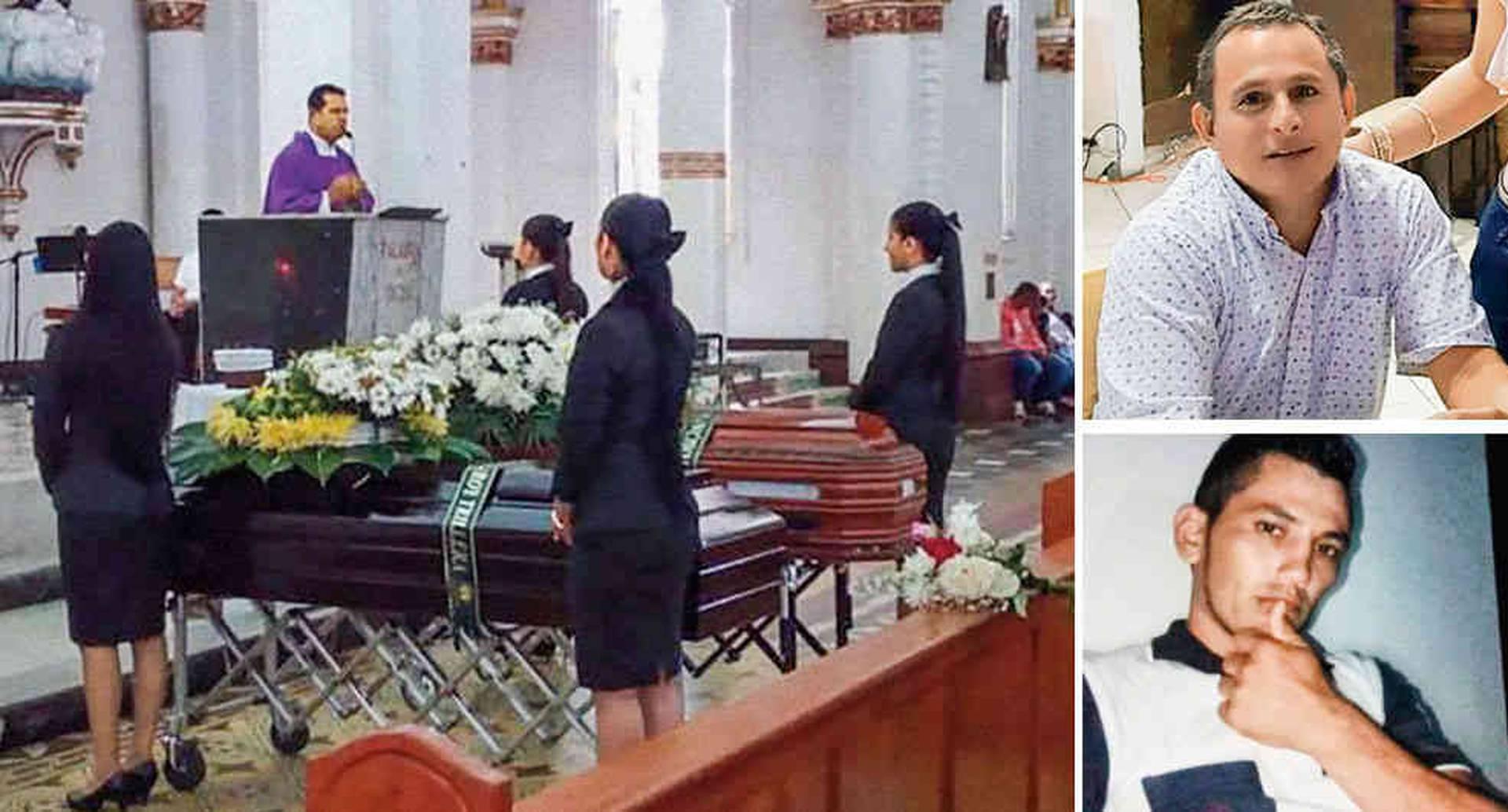 """Juvenal Silva Manchola y Jeferson Monroy murieron en el operativo del ejército. Las autoridades a cargo de la operación reseñaron sus muertes como """"daños colaterales""""."""