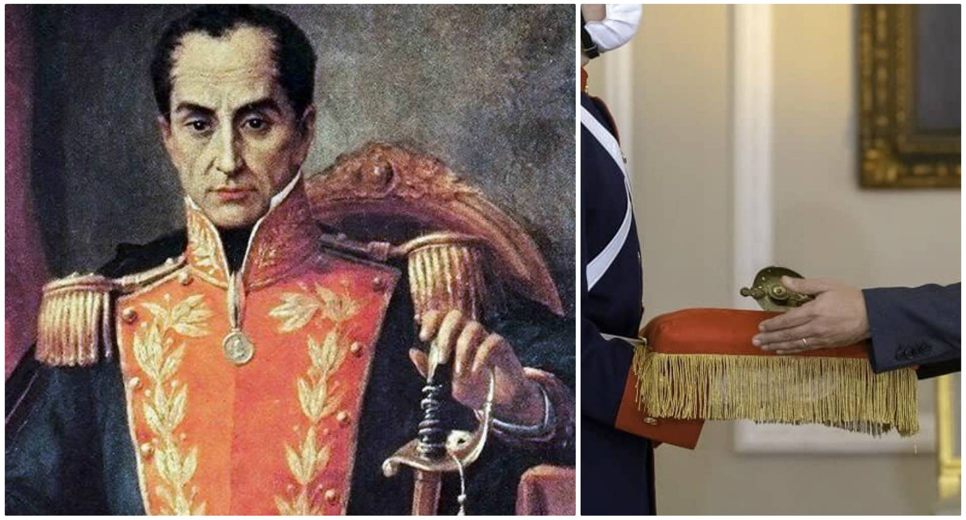 Espada de Simón Bolívar