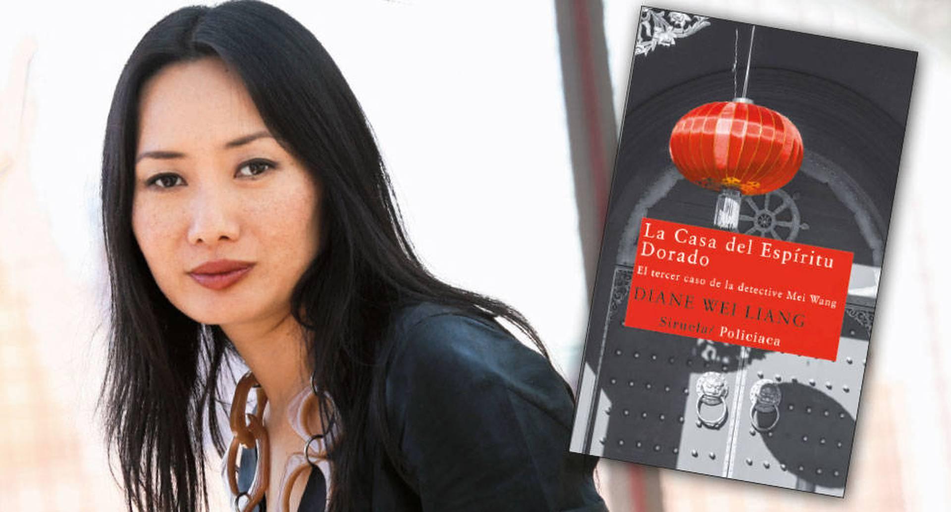 Diane Wei Liang nació en Pekín y vive en Reino Unido.