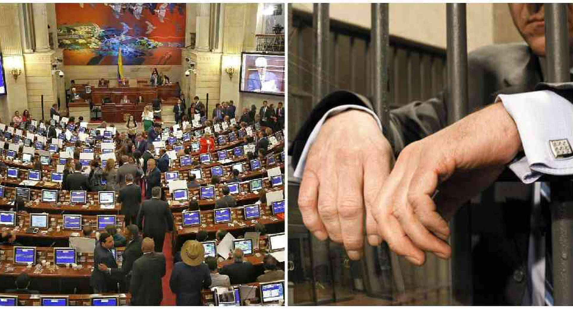 El proyecto de ley que regula las sanciones para los condenados por corrupción y delitos contra la administración pública, así como la cesión unilateral administrativa del contrato por actos de corrupción.