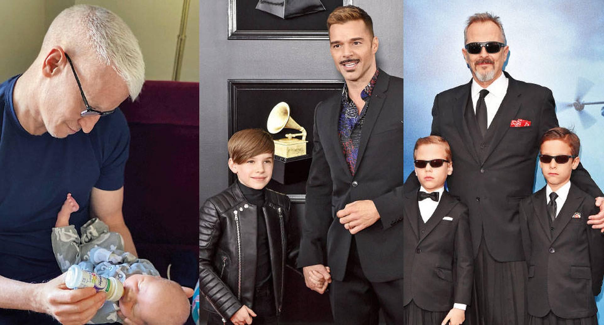 Anderson Cooper se unió a un grupo en el que también están Ricky Martin y Miguel Bosé.