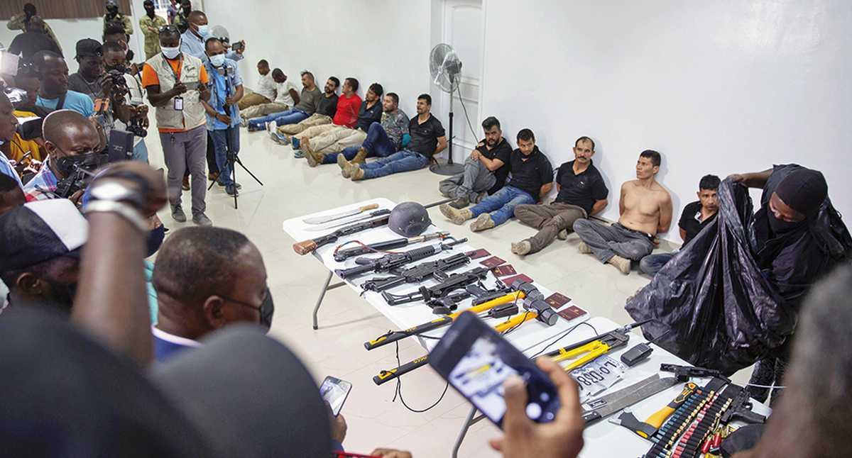 Atención: Policía confirma que exmilitares Duberney Capador y Germán Rivera  fueron fichas clave en asesinato del presidente de Haití